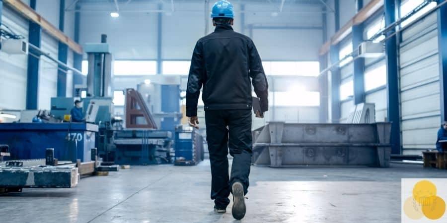 Man at factory