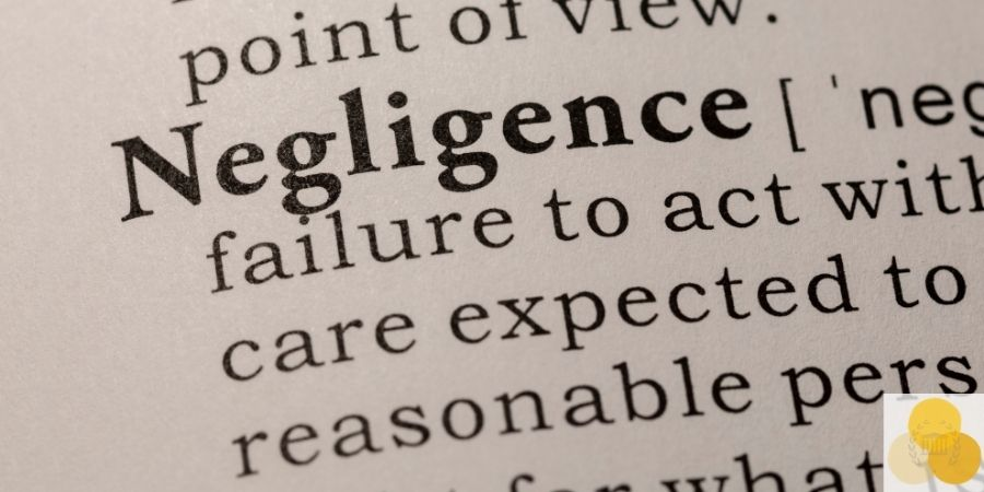 Negligence definition, important for legal malpractice case