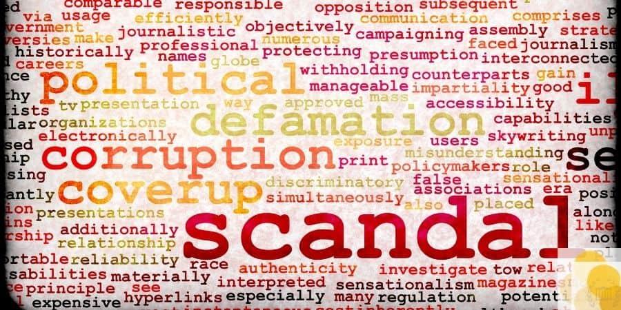 Scandal and defamation