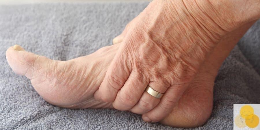 Elder abuse case involving foot pain