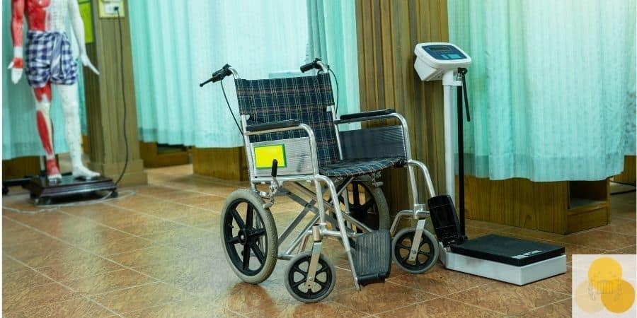 Wheelchair in elder abuse case