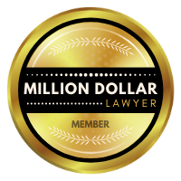 Million Dollar Lawyer Badge